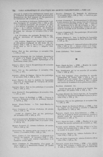 Tome 53 : Du 27 octobre au 30 novembre 1792 - page 722
