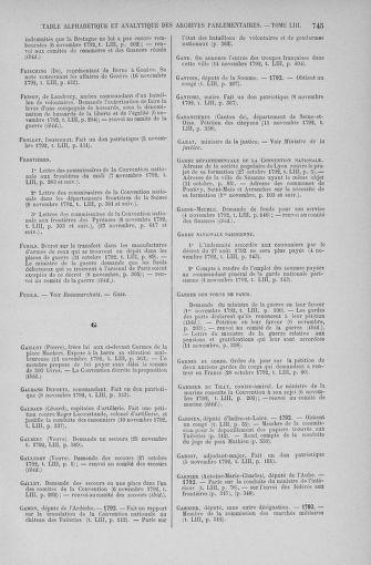 Tome 53 : Du 27 octobre au 30 novembre 1792 - page 745