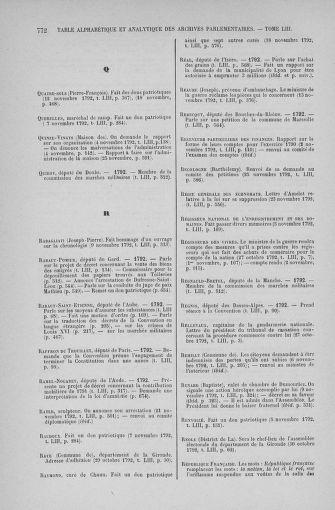 Tome 53 : Du 27 octobre au 30 novembre 1792 - page 772