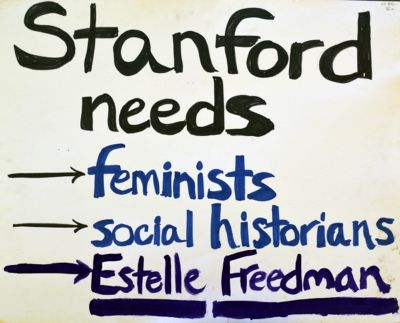Stanford Students for Estelle Freedman