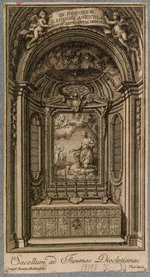 Sacello alle terme di Diocleziano