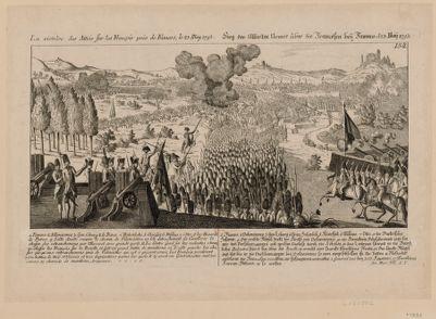 La  Victoire des Alliés sur les François près de Famars le 23 may 1793 [estampe]