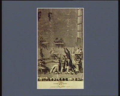 Scène touchante journée du 12 juillet 1793 : [estampe]