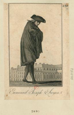 Emmanuel Joseph Sieyes [estampe]
