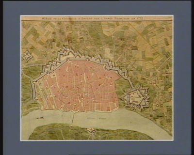 Siège de la citadelle d'Anvers par l'armée française en 1792 [dessin]