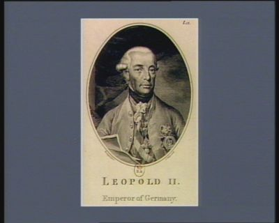 Leopold II Emperor of Germany : [estampe]