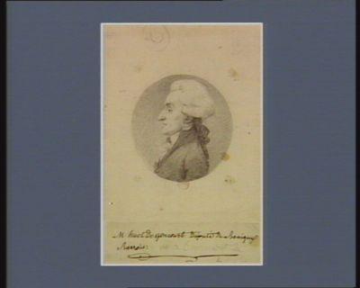 M. Huot de Goncourt député du Bassigny Barrois [dessin]