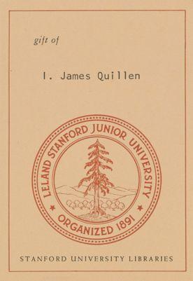 Gift of I. James Quillen