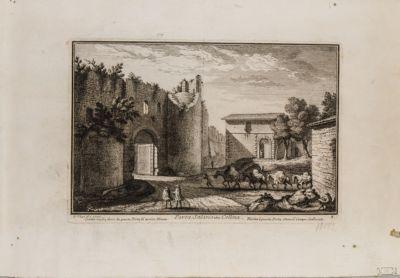 Porta Salaria, veduta generale dall'esterno