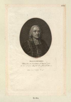 Malesherbes ministre et secretaire d'état en 1775... : [estampe]