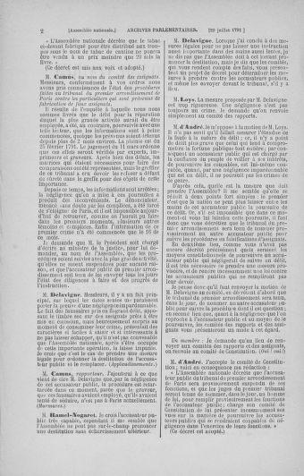 Tome 29 : Du 29 juillet au 27 août 1791 - page 2