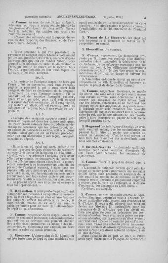 Tome 29 : Du 29 juillet au 27 août 1791 - page 3
