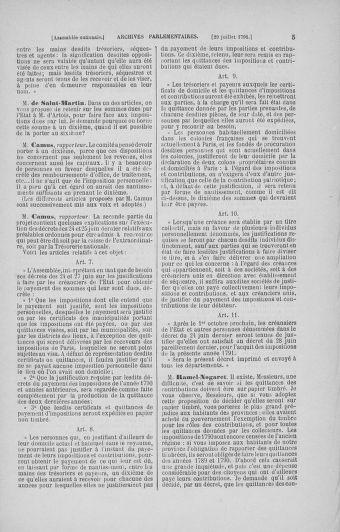 Tome 29 : Du 29 juillet au 27 août 1791 - page 5