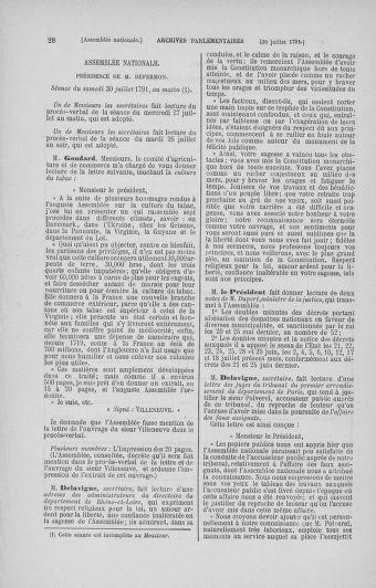 Tome 29 : Du 29 juillet au 27 août 1791 - page 28