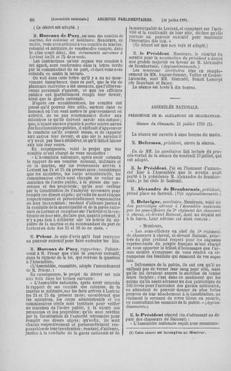 Tome 29 : Du 29 juillet au 27 août 1791 - page 66