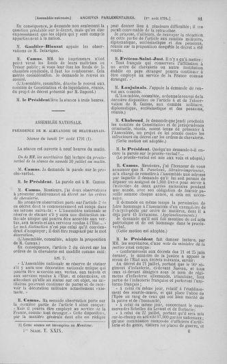 Tome 29 : Du 29 juillet au 27 août 1791 - page 81
