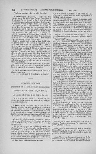 Tome 29 : Du 29 juillet au 27 août 1791 - page 122