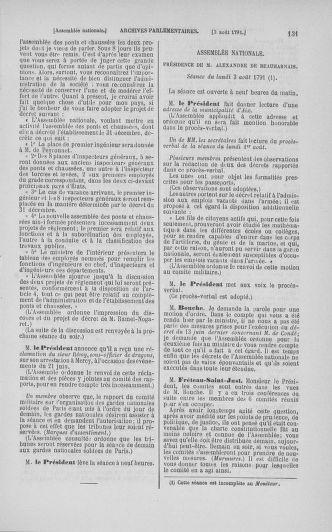 Tome 29 : Du 29 juillet au 27 août 1791 - page 131