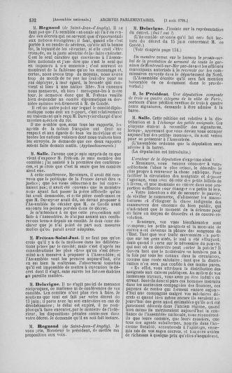 Tome 29 : Du 29 juillet au 27 août 1791 - page 132