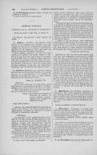 Tome 29 : Du 29 juillet au 27 août 1791 - page 146