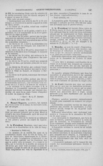Tome 29 : Du 29 juillet au 27 août 1791 - page 147