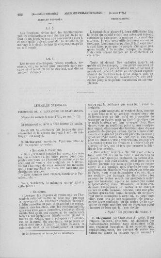 Tome 29 : Du 29 juillet au 27 août 1791 - page 222