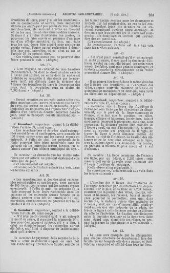 Tome 29 : Du 29 juillet au 27 août 1791 - page 233