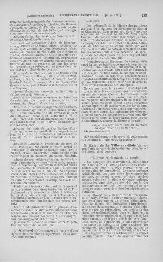 Tome 29 : Du 29 juillet au 27 août 1791 - page 235