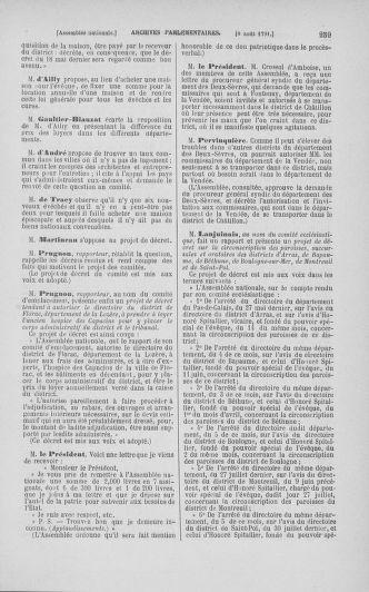 Tome 29 : Du 29 juillet au 27 août 1791 - page 259