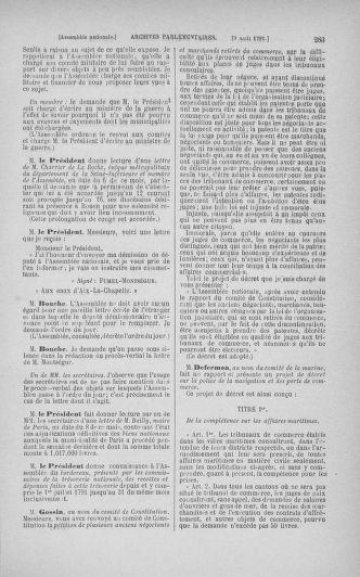 Tome 29 : Du 29 juillet au 27 août 1791 - page 283
