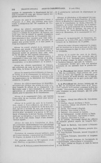 Tome 29 : Du 29 juillet au 27 août 1791 - page 304