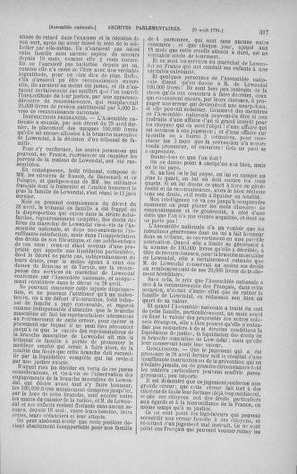 Tome 29 : Du 29 juillet au 27 août 1791 - page 317