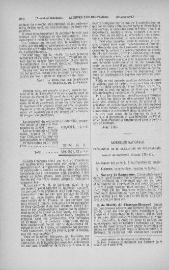 Tome 29 : Du 29 juillet au 27 août 1791 - page 318