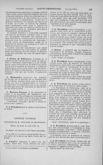Tome 29 : Du 29 juillet au 27 août 1791 - page 335