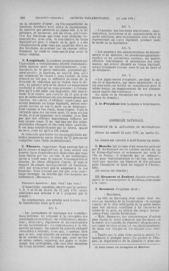 Tome 29 : Du 29 juillet au 27 août 1791 - page 396