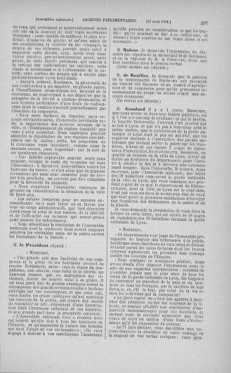Tome 29 : Du 29 juillet au 27 août 1791 - page 397