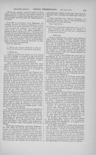 Tome 29 : Du 29 juillet au 27 août 1791 - page 415