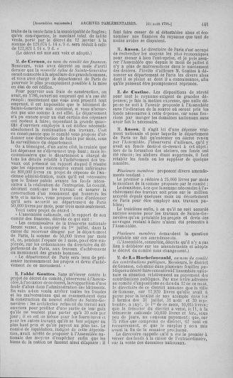 Tome 29 : Du 29 juillet au 27 août 1791 - page 441
