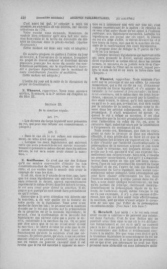 Tome 29 : Du 29 juillet au 27 août 1791 - page 442