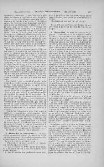 Tome 29 : Du 29 juillet au 27 août 1791 - page 491