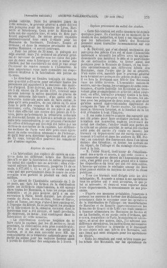 Tome 29 : Du 29 juillet au 27 août 1791 - page 575