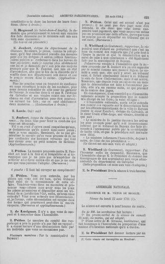 Tome 29 : Du 29 juillet au 27 août 1791 - page 621