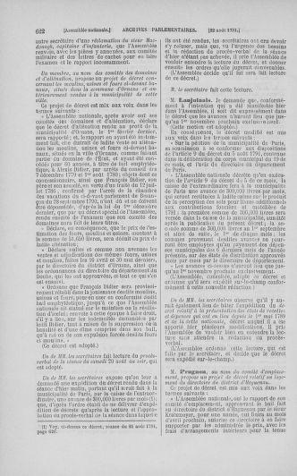 Tome 29 : Du 29 juillet au 27 août 1791 - page 622
