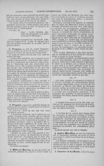 Tome 29 : Du 29 juillet au 27 août 1791 - page 723