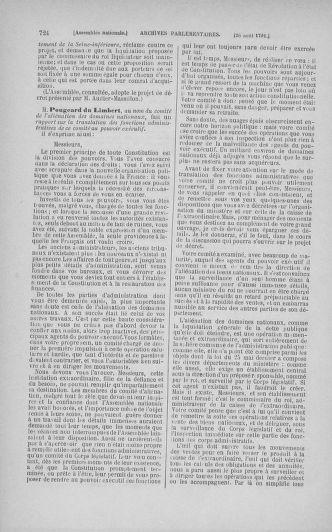 Tome 29 : Du 29 juillet au 27 août 1791 - page 724