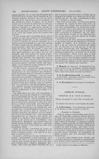 Tome 29 : Du 29 juillet au 27 août 1791 - page 736