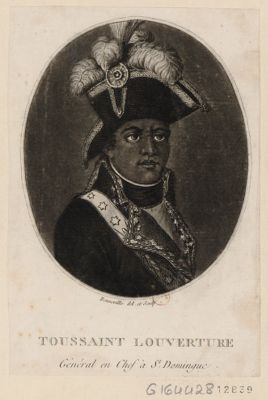Toussaint Louverture général en chef à St Domingue : [estampe]
