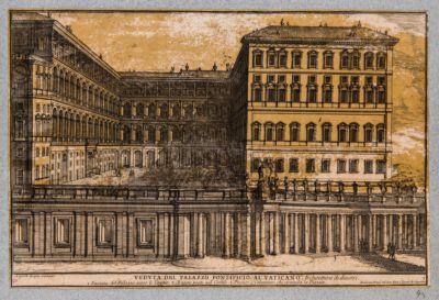 Veduta del Palazzo Pontificio