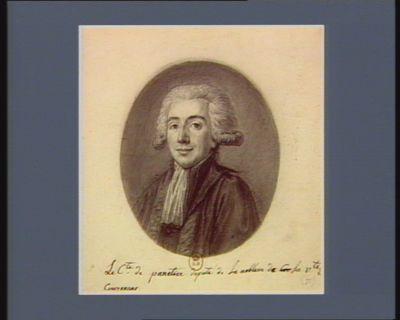 Le  C.te de Panetier deputé de la noblesse de la v.té de Couzerans : [dessin]