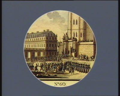N.o 60 28 fevrier. Emeute populaire à Vincenne pres Paris : [estampe]